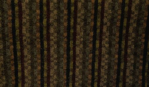 """HAND DYED RUG HOOKING WOOL Mill-Dyed APPLIQUE """"YUMMY STRIPE/CHECK"""" ONE YARD"""