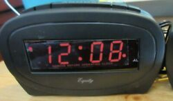 Equity by La Crosse 30228 LED Alarm Clock NO BOX!!!!!