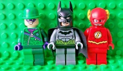 Lego Batman 76012 The Riddler Chase Race Minifigure Lot Batman Riddler The Flash
