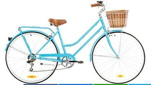 Reid Cycles Baby Blue Vintage Bicycle and Helmet Mount Hutton Lake Macquarie Area Preview