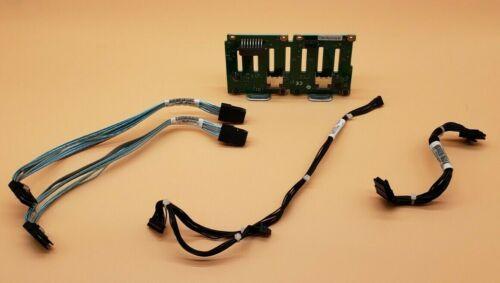 """IBM x3650 M3 94Y6670 8 Bay 2.5"""" SAS Hard Drive Backplane w/ Cables"""