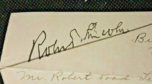 Robert Todd Lincoln Signed Autograph Letter 1925