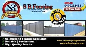 SR FENCING Perth Perth City Area Preview