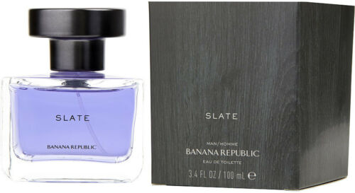 Slate by Banana Republic Cologne for him 3.4 oz 3.3 edt New in Box