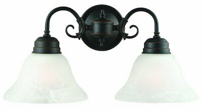 Design House 514471 Millbridge 2 Light Wall Light, Oil Rubbe