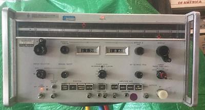 Used Nasa Hp Mod 691b Sweep Oscillator 1gc To 2gc Working Very Good
