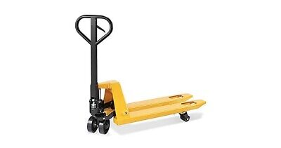 Warehouse Pallet Jack - Shortextra Narrow Fork 36 X 16