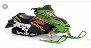 Looking for a newer snowmobile that needs work