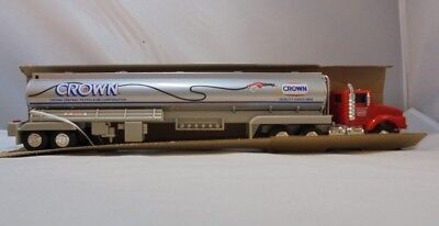 1994 Crown Quality Gasolines Toy Scale Model Tanker Truck  MIB