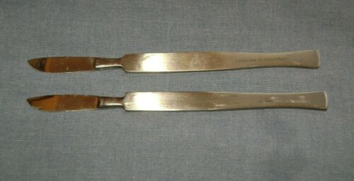 """(2) Dissecting Scalpel Knife Stainless Steel 1-1/2"""" Blade by Carolina"""