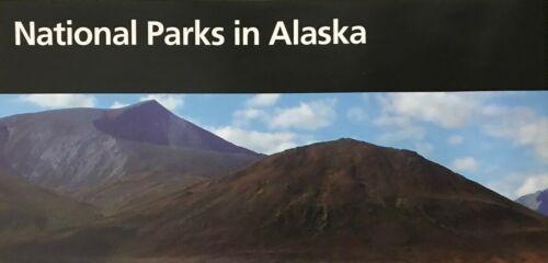 NATIONAL PARKS in ALASKA   NATIONAL PARK SERVICE UNIGRID BROCHURE  Map ALL SITES