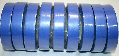Industrial Blue Masking Tape 24mm X 55m 9 Rolls 14 Day Painters Tape New