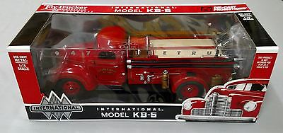 Toy Trucker & Contractor 1/16 IH Model KB-5 Fire Truck, Die-cast Promotions