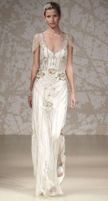 Jenny Packham Eden Platinum Wedding Dress For Brand New