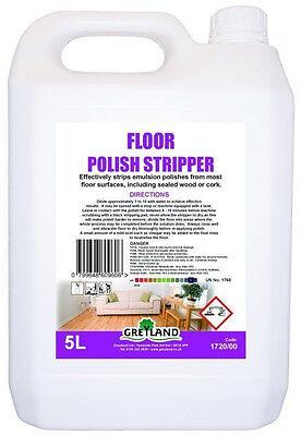Greyland Floor Polish Stripper 5 litre - Floor Care