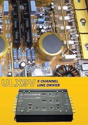 Critical Mass Audio Ulx9v X Over Line Driver 9V Best Jl Eq Ul12 Crossover Usa Nr