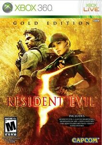 Resident Evil 5 Gold Edition XBOX 360 Game Microsoft BRAND NEW & SEALED