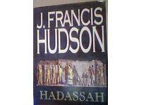 hadassah, book,j. francis hudson