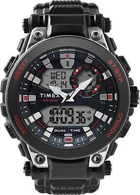 Timex The Guard TW5M30800 Resin Strap Combo Digital Black Dial Men's Wrist Watch