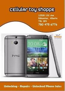 LIKE NEW - HTC ONE M8 32GB Grey UNLOCKED