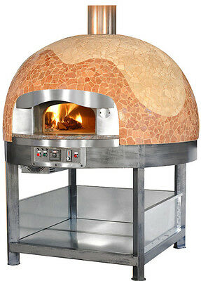 Italian Gas Wood Fired Pizza Oven Available In 3 Dimension And 3 Models