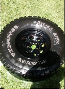 "35"" Mickey Thompson Baja ATZ tires (LT315/75R16) ON RIMS!"