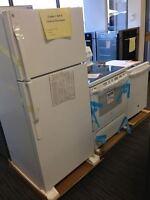 Cuisinière + Réfrigérateur + Lave-vaisselle Blanc !! 1599 $