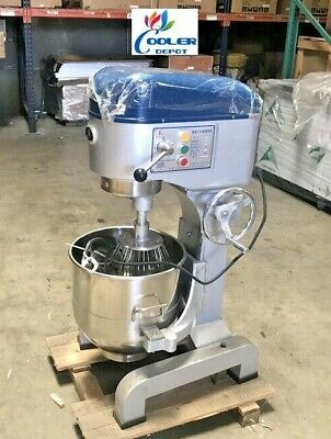 New 37 Quart Mixer Machine 3 Speed Commercial Bakery Kitchen Equipment Mx37qt