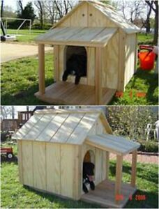 Custom Built Dog Houses