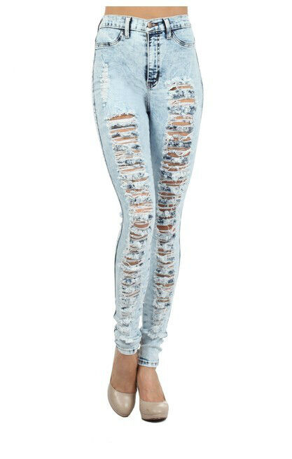 DIY Distressed Jeans | eBay