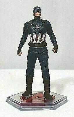 Disney CAPTAIN AMERICA FIGURINE Cake TOPPER AVENGERS Marvel End Game Toy NEW  - Captain America Cake Topper