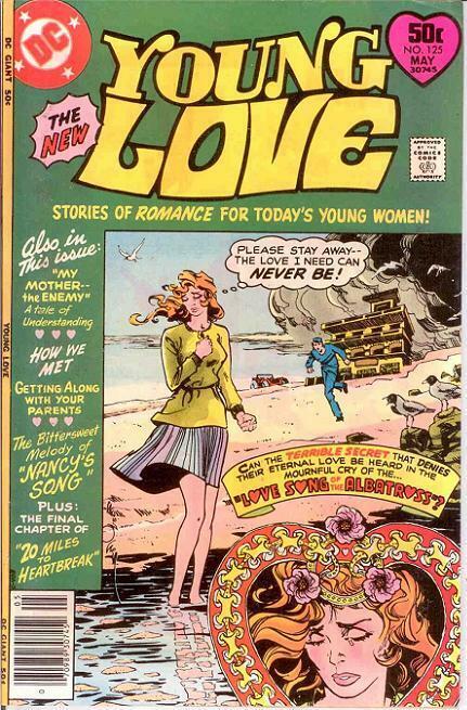 YOUNG LOVE 125 VF+ TOTH   May 1977 COMICS BOOK