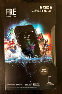Lifeproof FRE iPhone 7 Plus, waterproof tested, used for a day