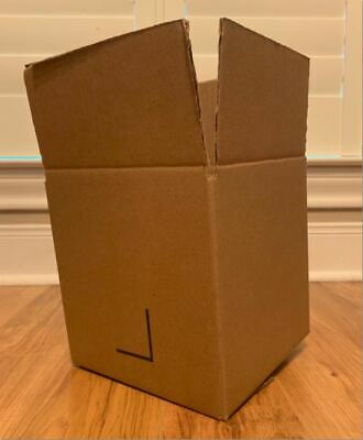14x 8 X 8 X 8 Inch Square Cardboard Shipping Mailing Moving Boxes
