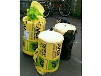 3nr rolls of Isover 50mm (600mm Acoustic Partition Roll)
