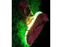LED Trainers Pink SIZE 4