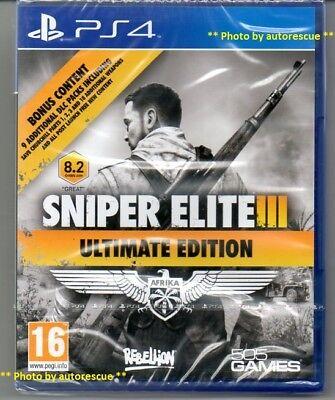 Usado, Sniper Elite III (3) Ultimate Edition  'New & Sealed'   *PS4(Four)* segunda mano  Embacar hacia Mexico
