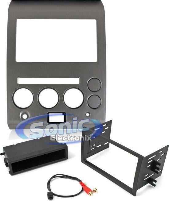 Scosche NN1453B Single/Double DIN Install Dash Kit for 06-07 Nissan Armada/Titan