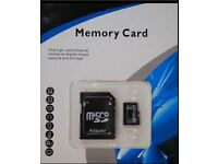 256 gb micro mini memory card , adapter and reader brand new genuine