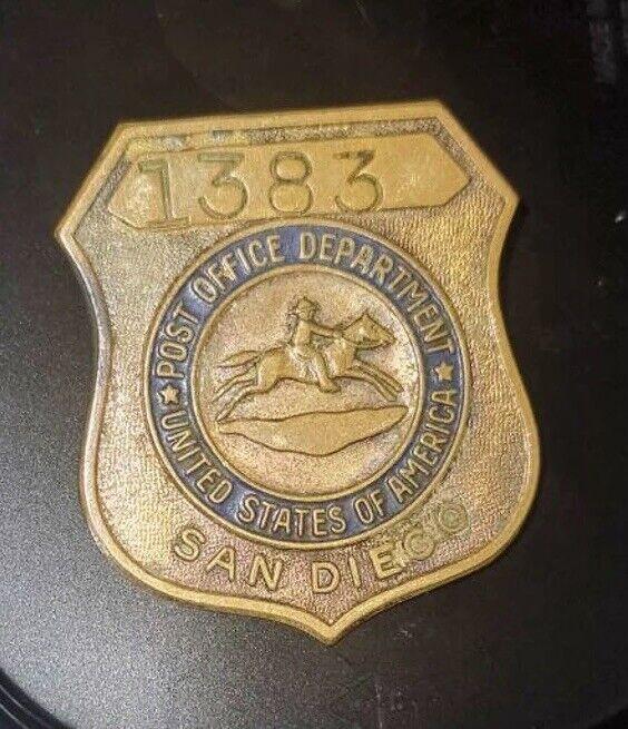 United States Post Office San Diego Badge