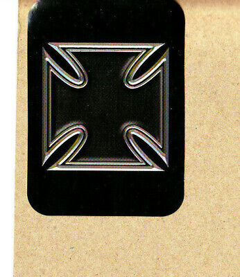 Vintage Iron Cross skateboards sticker Gray//Green Godoy brothers schmitt stix