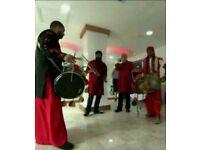 Bhangra Dhol players & Band Baja