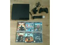 PlayStation 3 Slim Edition 160 for 6 Games PS Move