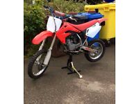 Honda cr85 not pit bike kx sx yz