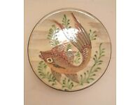 Decorative vintage wall plate