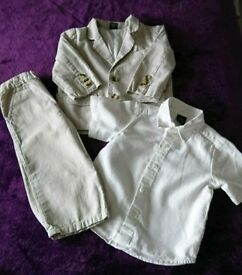NEXT toddler 12-18mth 3 piece suit