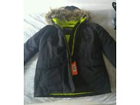 Superdry Rescue black jacket Small