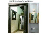 Stunning brand new shabby chic mirrors at amazing prices