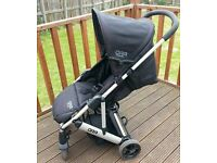 mama and papas pushchair with raincover