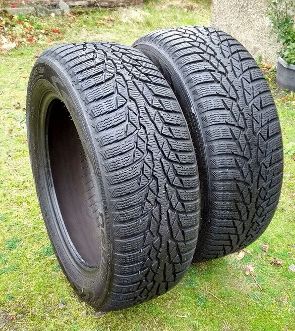 winter tyres nokian wr d4 205 55 r16 91h two tyres in forfar angus gumtree. Black Bedroom Furniture Sets. Home Design Ideas